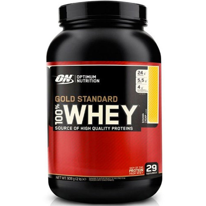 ON Gold Standard 100% Whey Protein 2lb - Banana Cream