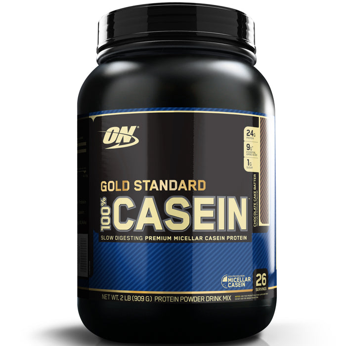 ON Gold Standard 100% Casein 2lb. - Chocolate Cake Batter