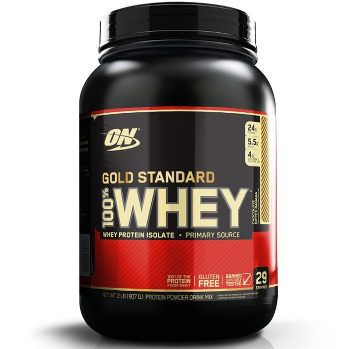 ON Gold Standard 100% Whey Protein 2lbs - Chocolate Dipped Banana