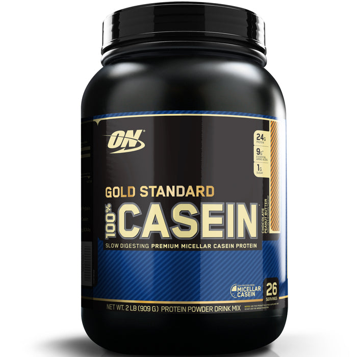 ON Gold Standard 100% Casein 2lb. - Chocolate Peanut Butter