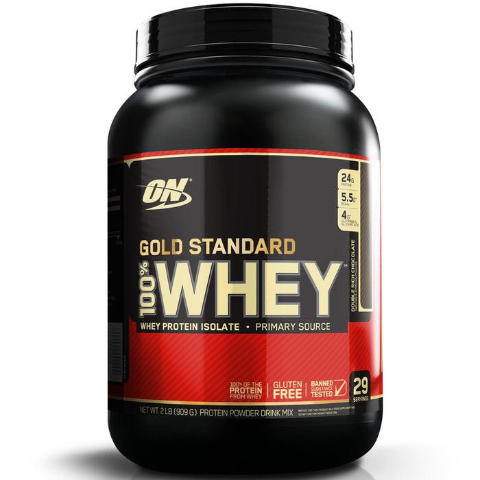 ON Gold Standard 100% Whey Protein 2lb - Double Rich Chocolate