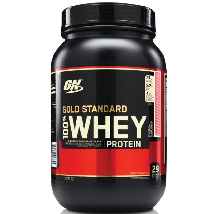 ON Gold Standard 100% Whey Protein 2lb - Delicious Strawberry