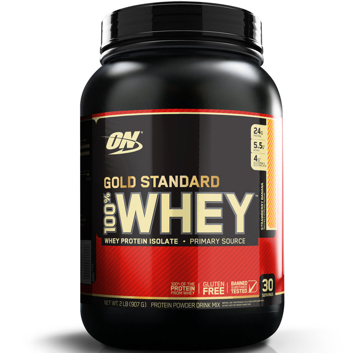 ON Gold Standard 100% Whey Protein 2lb - Strawberry Banana
