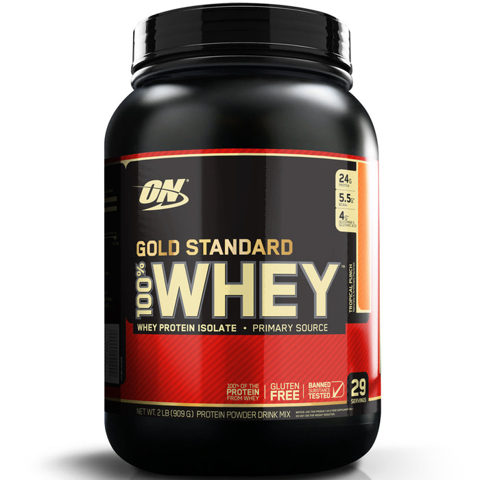ON Gold Standard 100% Whey Protein 2lb - Tropical Punch