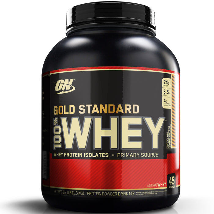 ON Gold Standard 100% Whey Protein 3.3lb - Chocolate Peanut Butter