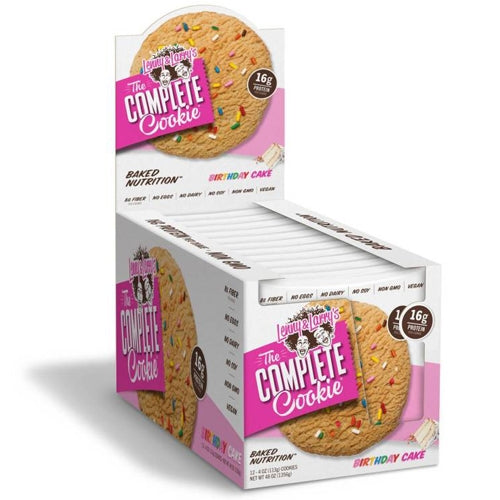 Lenny & Larry's Complete Cookie Box of 12 - White Chocolate Chip Macadamia Nut