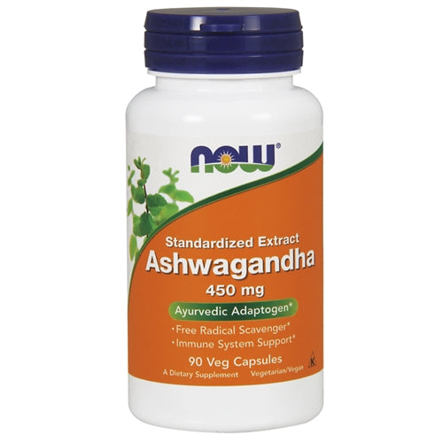 Ashwagandha Extract 450mg 90 Capsules - Tiger Fitness