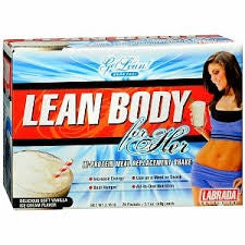 Lean Body For Her 20ct. - Delicious Strawberry Ice Cream