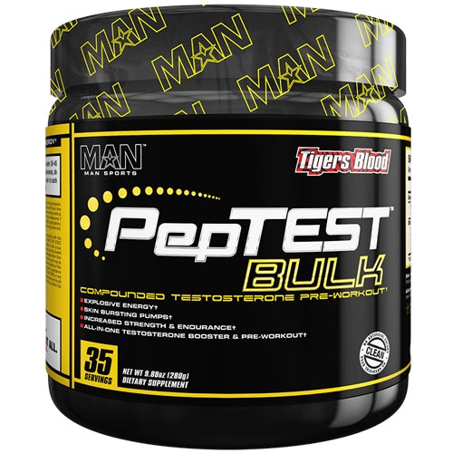 Peptest Bulk MAN Sports - Tigers Blood