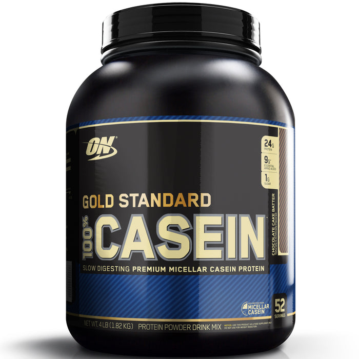 ON Gold Standard 100% Casein 4lb. - Chocolate Cake Batter