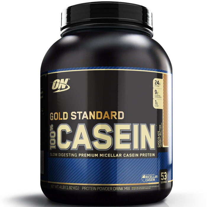 ON Gold Standard 100% Casein 4lb. - Chocolate Peanut Butter