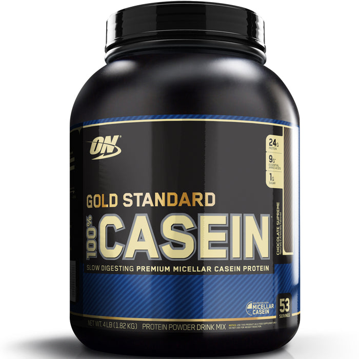 ON Gold Standard 100% Casein 4lb. - Chocolate Supreme