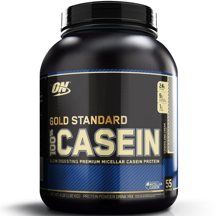 ON Gold Standard 100% Casein 4lb. - Cookies & Cream