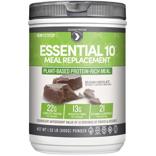 Essential 10 Meal Replacement 1.19 Lbs - Madagascar Vanilla Almond