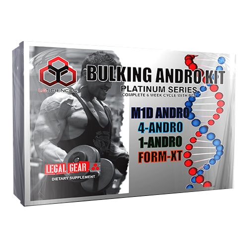 Lg Sciences Bulking Andro Kit Platinum Series