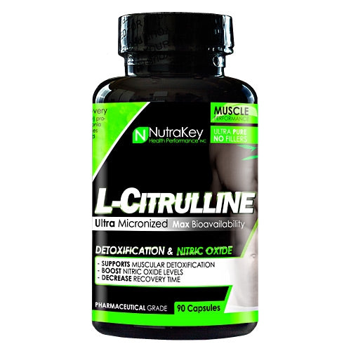 L-Citrulline 90ct Nutrakey