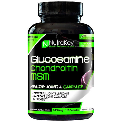 Glucosamine Chondroitin MSM - Tiger Fitness