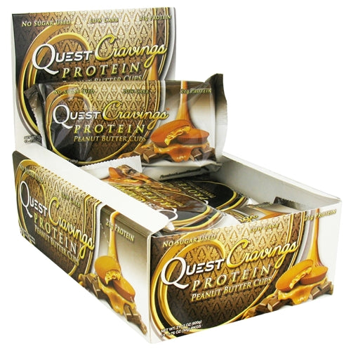 Quest Cravings Peanut Butter Cups 12/2 packs