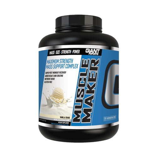 Products Muscle Maker 6lbs. - Vanilla Shake