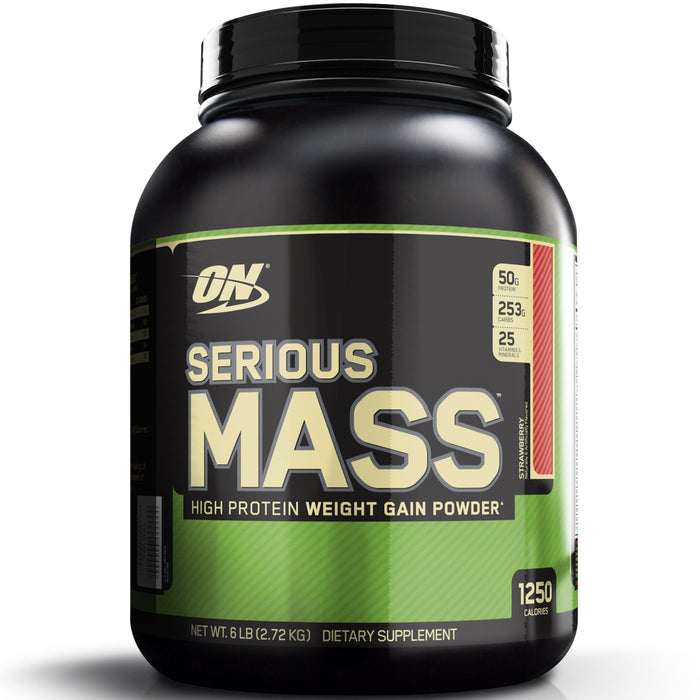 ON Serious Mass 6lbs - Strawberry