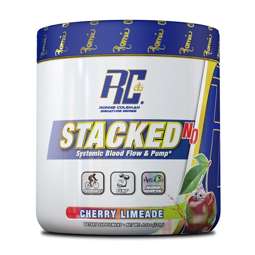 Ronnie Coleman Stacked NO Powder - Strawberry Watermelon