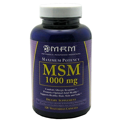 MSM 1000mg 120ct.