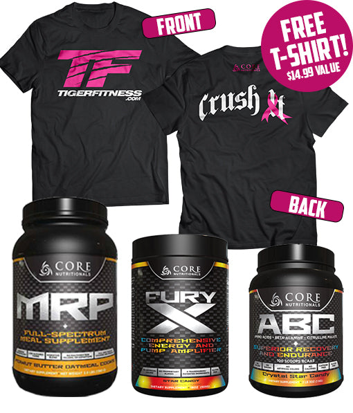 Crush It - Breast Cancer Awareness Stack