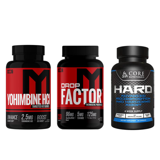 Drop Hard Stack + Free Yohimbine - Tiger Fitness