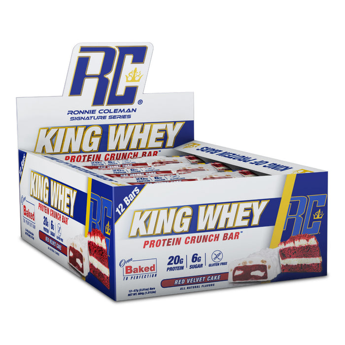 King Whey Protein Bars