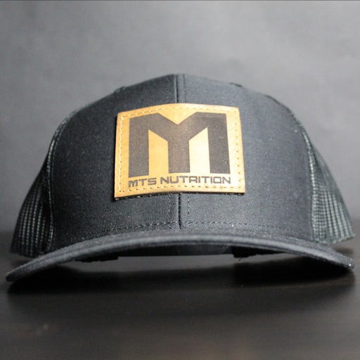 MTS Leather Patch Mesh Trucker Snapback