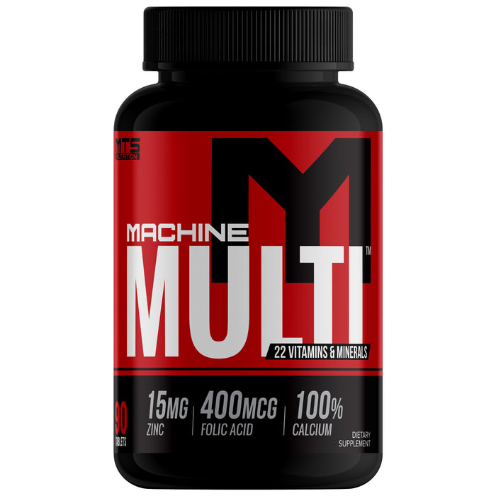 Machine Multi™ 100% RDA Multivitamin & Mineral Formula - Tiger Fitness