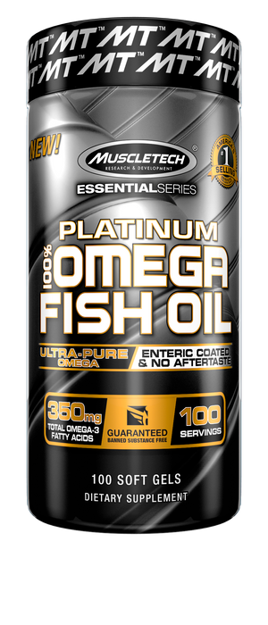 Platinum 100% Fish Oil - Tiger Fitness