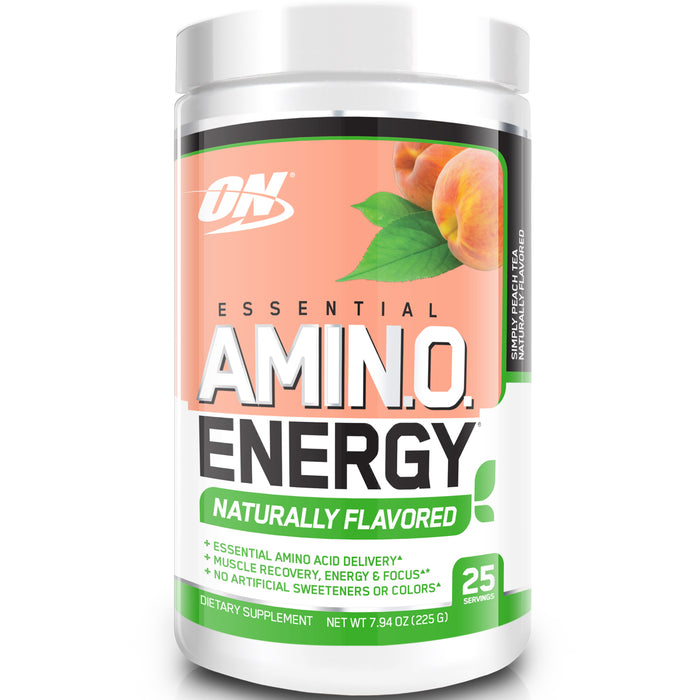 ON Essential Amino Energy Naturally Flavored | 25 Servings - Peach Tea