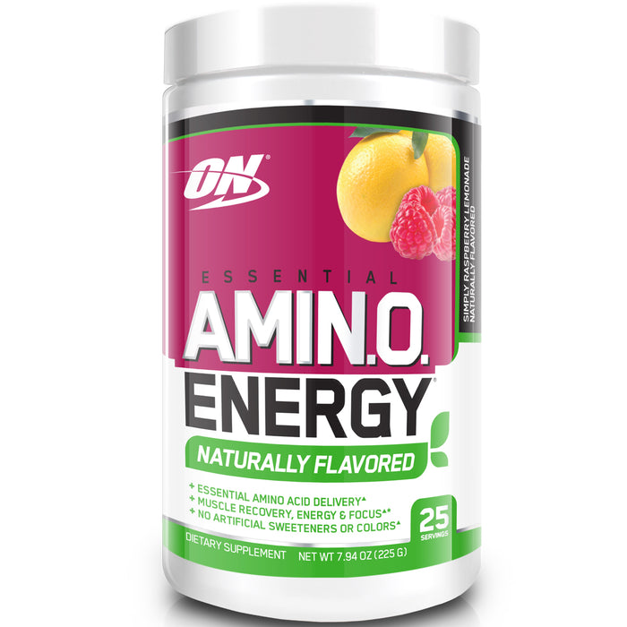 ON Essential Amino Energy Naturally Flavored | 25 Servings - Raspberry Lemonade
