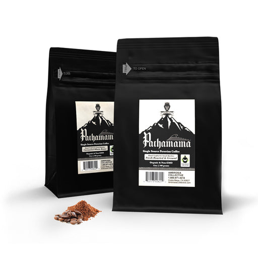 Pachamama® Non-GMO Single Source Peruvian Coffee - Tiger Fitness