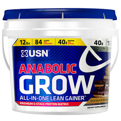 USN Anabolic Grow 12Lbs - Chocolate Peanut Butter