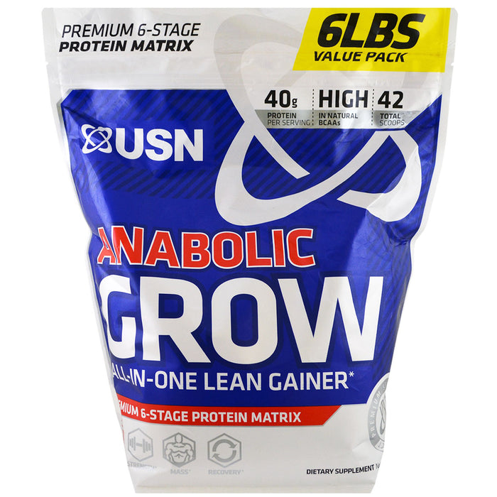 USN Anabolic Grow 6Lbs - Cookies & Cream