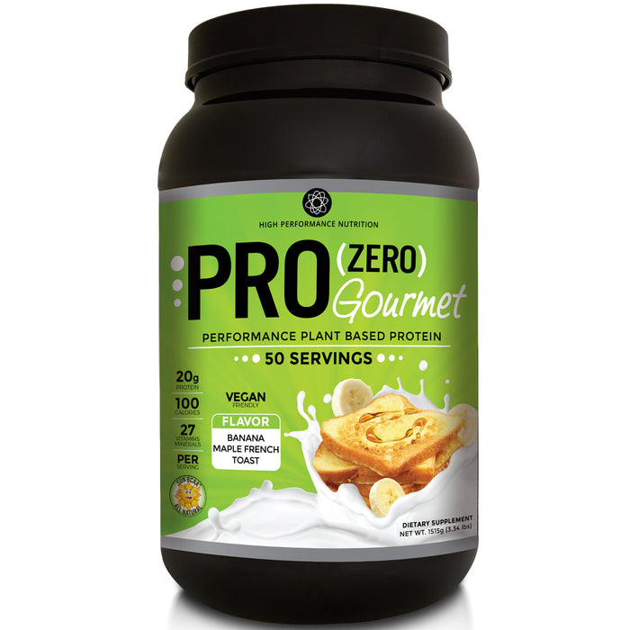 HPN Pro Zero 50 Servings - Gourmet Banana Maple French Toast