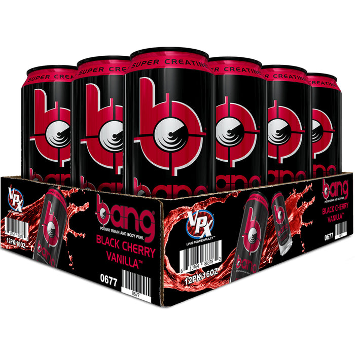 VPX Bang Box of 12 - Black Cherry Vanilla