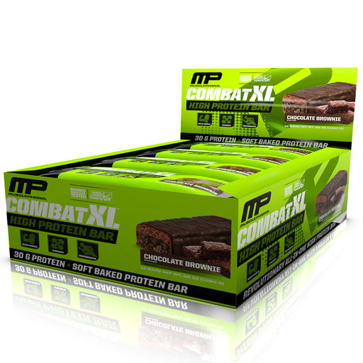 Combat XL High Protein Bars Box of 12 - Chocolate Brownie