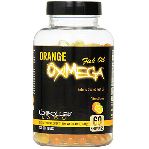 Orange OxiMega Fish Oil - Tiger Fitness
