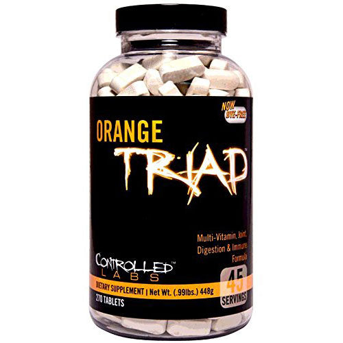 Orange Triad - Tiger Fitness