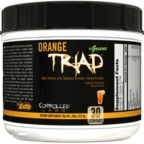 Orange Triad + Greens - Tiger Fitness