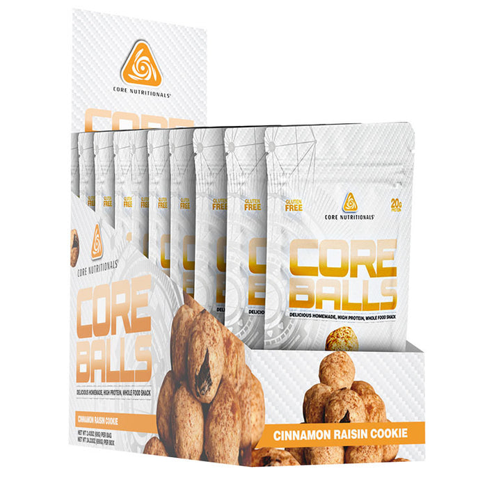 Core Protein Balls - Tiger Fitness