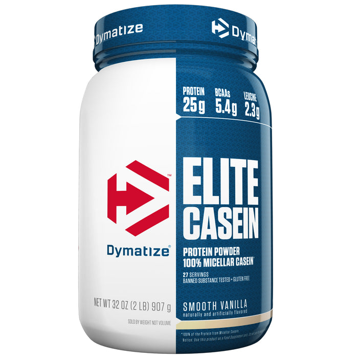 Elite Casein 2lbs.  - Smooth Vanilla