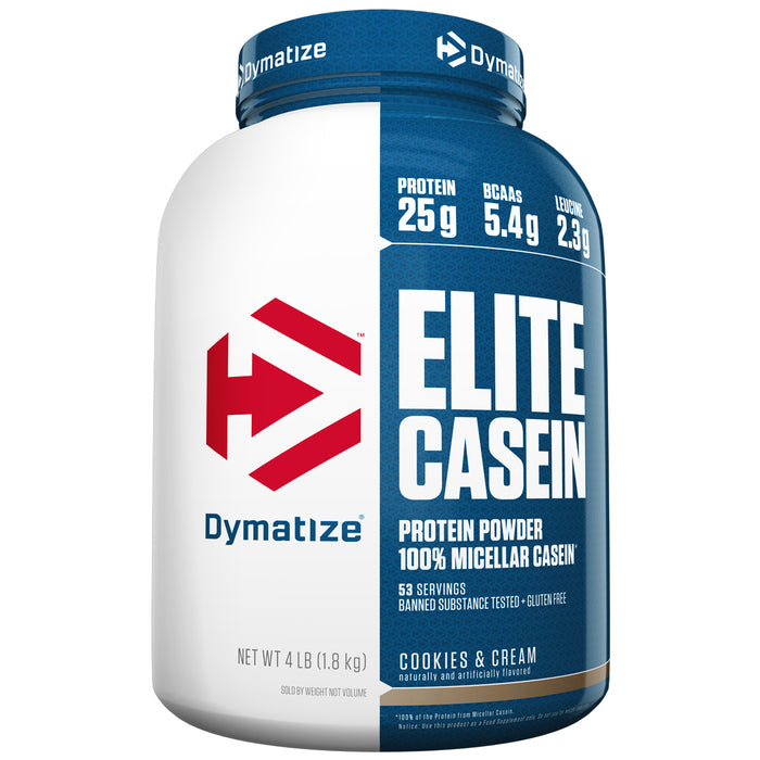 Elite Casein 4lbs  - Cookies & Cream