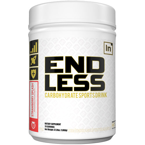 Inspired Nutraceuticals EndLess Carbohydrate Sports Drink | 20 Servings - Strawberry Splash