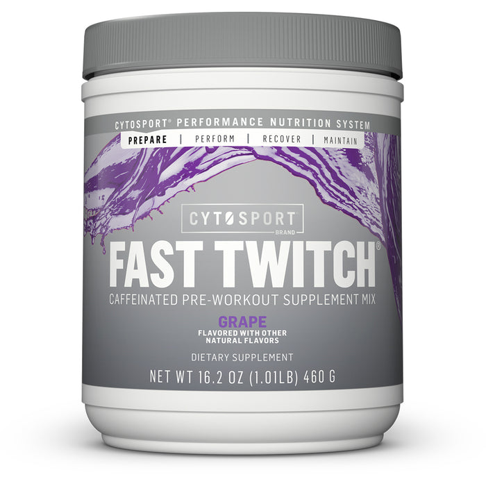 CytoSport Fast Twitch | 20 Servings - Grape