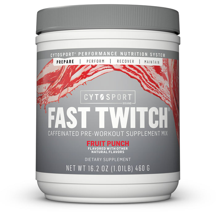 CytoSport Fast Twitch | 20 Servings - Fruit Punch