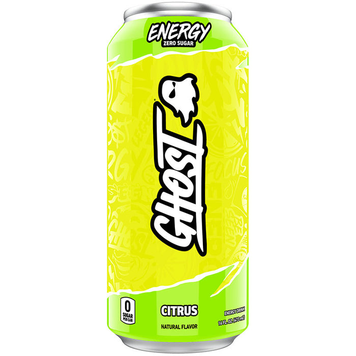 Ghost Energy Drink Can - Citrus